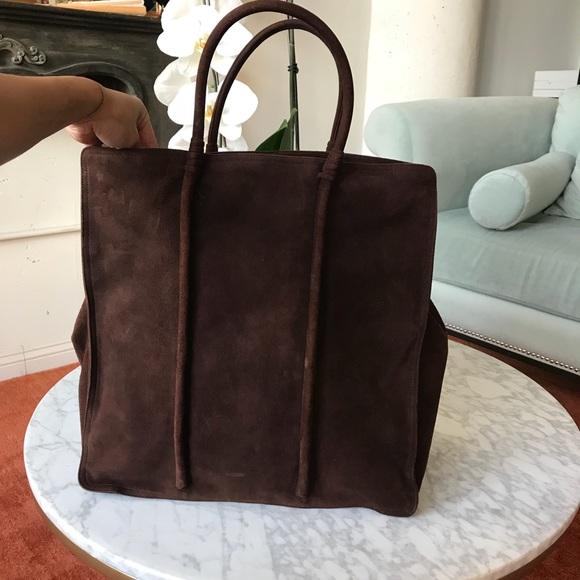 968978c12274 Bottega Veneta Handbags - Bottega veneta suede brown tote bag with leather